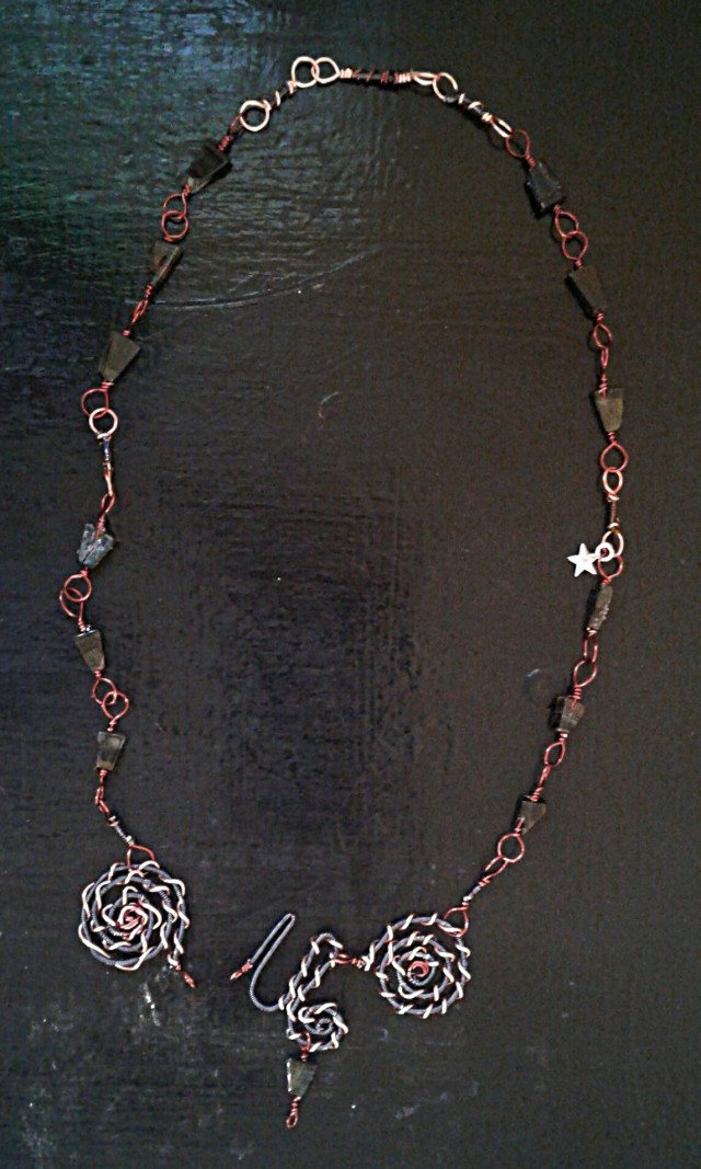 Sigil Necklace with clasp unhooked