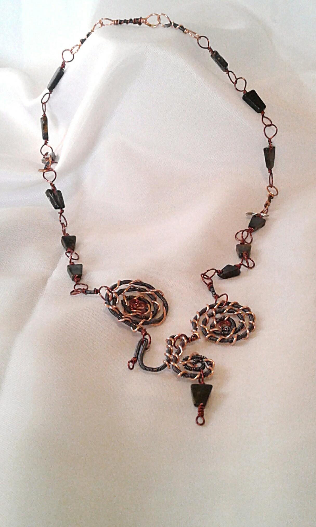 Full shot of the Sigil Necklace.