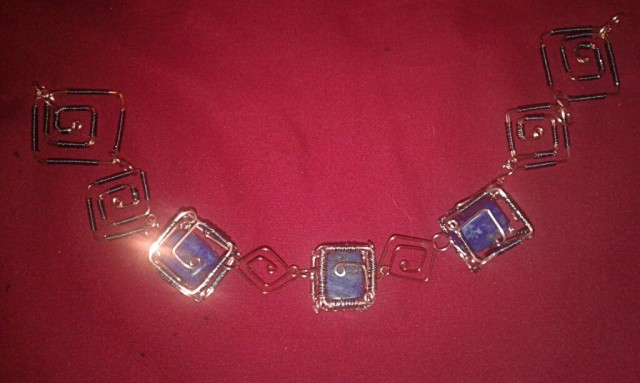 Caged Lapis with starting links