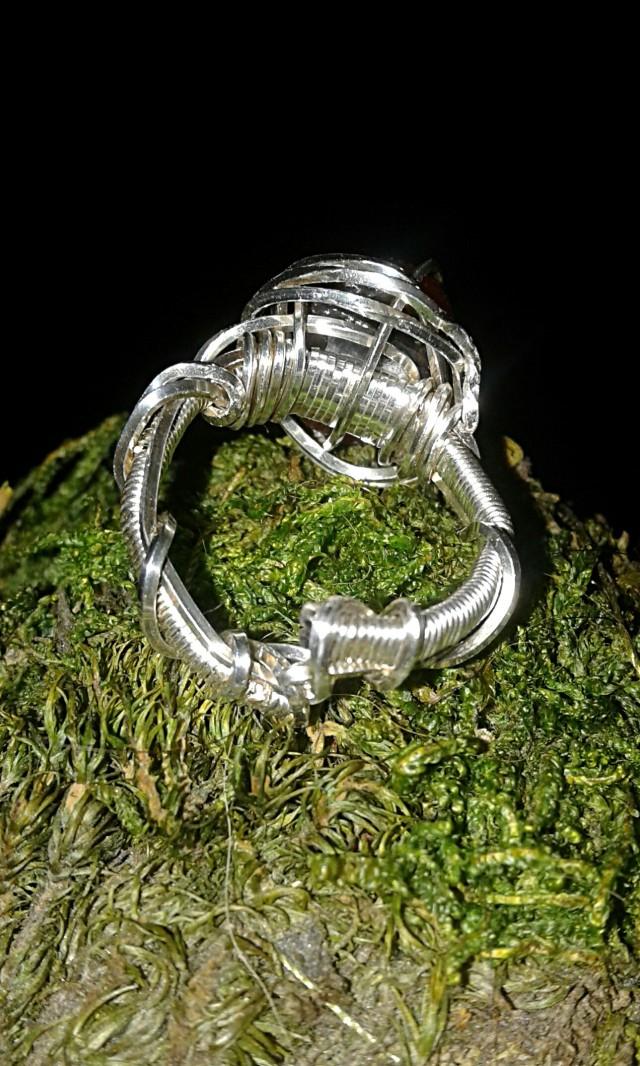 Helia's Tear ring underside view