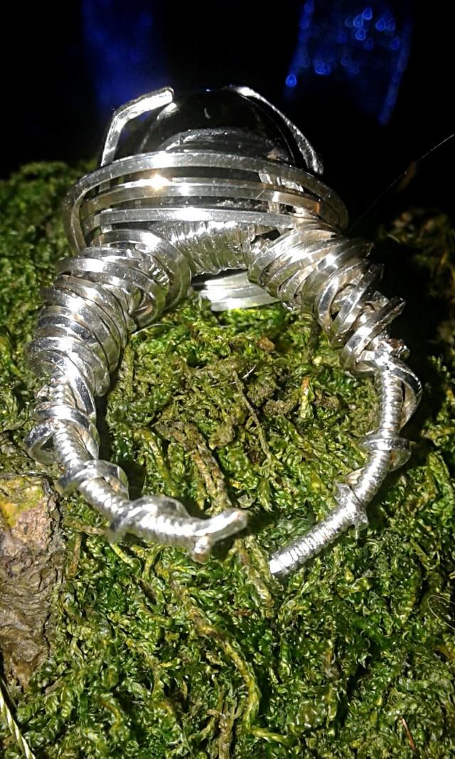 Algol ring back underside view