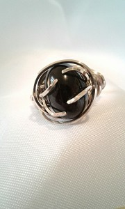 Full frontal shot of the Algol ring's feature stone.